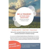 Community Event: Be a Tourist in Your Own Backyard