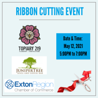May 12, 2021 Grand Reopening Topiary 219 and Juniper Tree Juice & Coffee Bar
