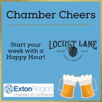 June 28, 2021: Chamber Cheers at Locust Lane Craft Brewery