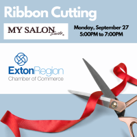 September 27, 2021 - MY SALON Suite Grand Opening