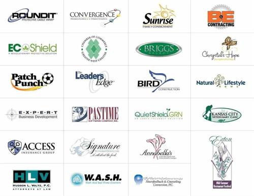 A small sampling of the numerous logos we have created