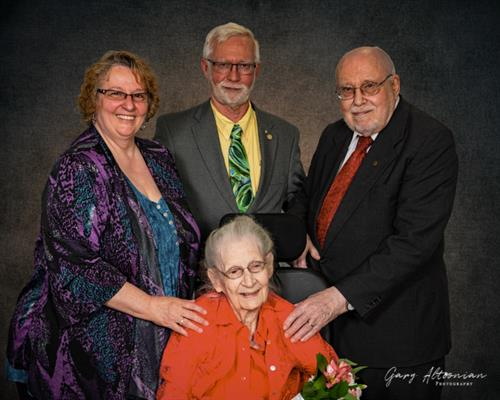 Mother's Day Family Portrait at Cokesbury Village.