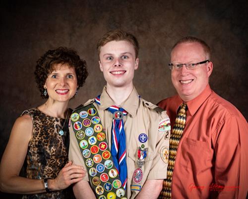 Eagle Scout Family Portrait - Class of 2018