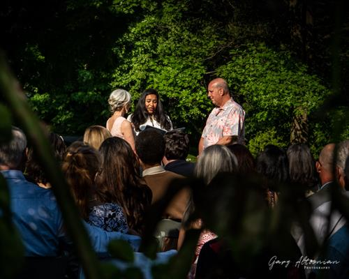 Intimate wedding at Auburn Heights Preserve in Yorklyn, DE