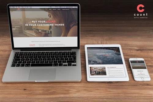 Count Digital Marketing - Website Design