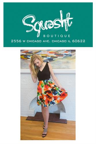 Our dresses are made in Chicago!