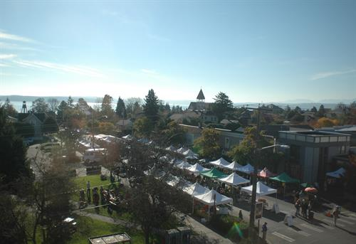 Port Townsend Market from Above