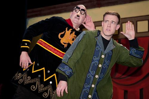 """Beat the winter blues with the riotous comedy """"The Complete Works of William Shakespeare"""" continuing Feb. 4, 5, 6 at the Paradise Center for the Arts."""