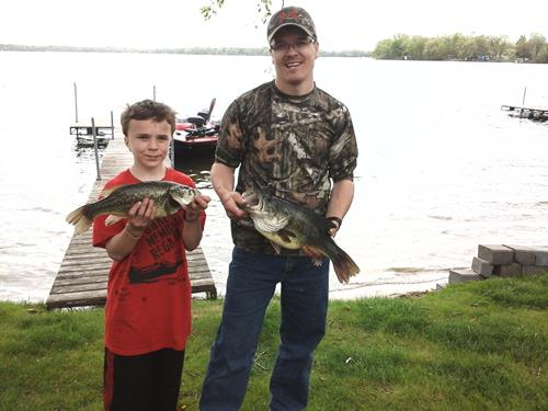 great bass fishing! as well as crappies, sunnies, walleye, northern, perch