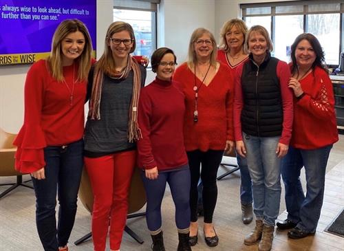 Red For Women's Heart Health Day!