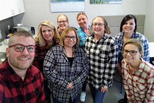 Supporting The Chamber Flannel Formal