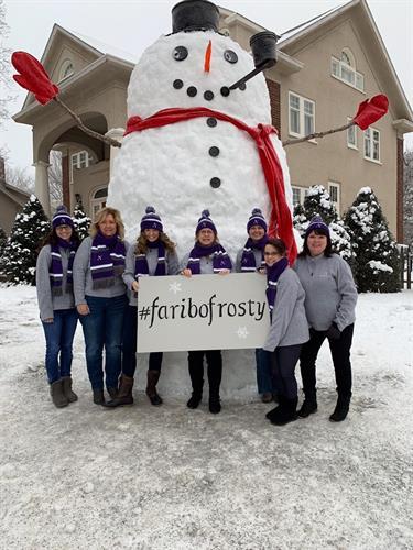 Faribo Frosty!