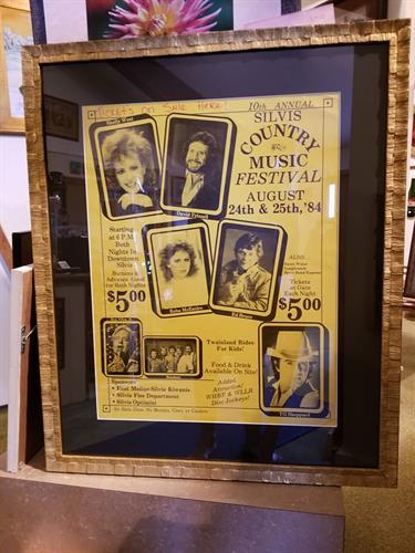 Customer framing, not for sale