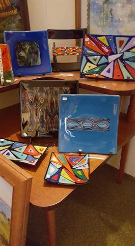Fused glass by Dale Brown. All items by this artist are for sale.