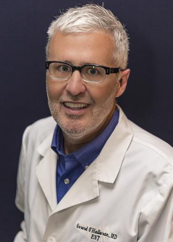 ENT specialist Gerard O'Halloran, MD
