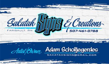 Sakatah Carvers, Signs & Creations