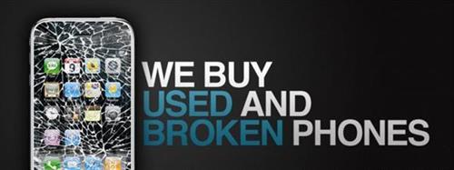 We buy used phones
