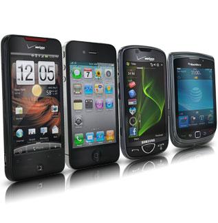 Smartphones fixed fast