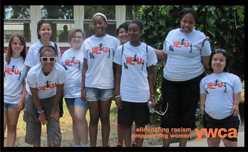 Summer 2012 Girls Be U participants