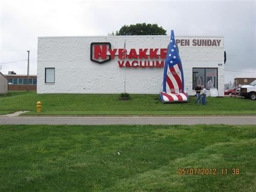 Nybakke features American Made vacuums