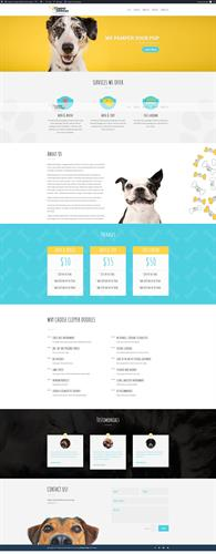 Web Design Rockwall TX - Clipper Doodle Pet Grooming
