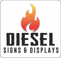 Diesel Signs & Displays