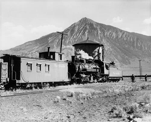 Denver & Rio Grande Railroad at the Water Tank