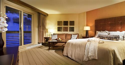 All of our rooms are spacious and inviting.