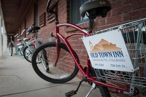 Free Townie Bikes for Guest Use