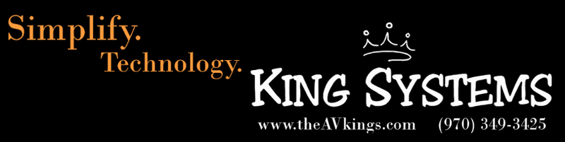 King Systems: Technology Concierge - Audio/Video/Networking Professionals and Experts. Friendly Nerds!