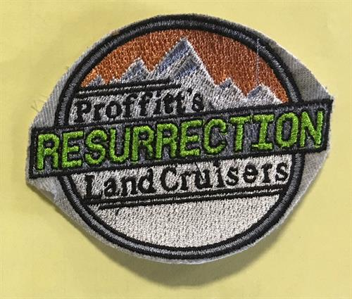 Proffitts Resurrection embroidery