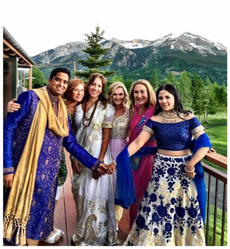elaborate Indian Wedding in Crested Butte