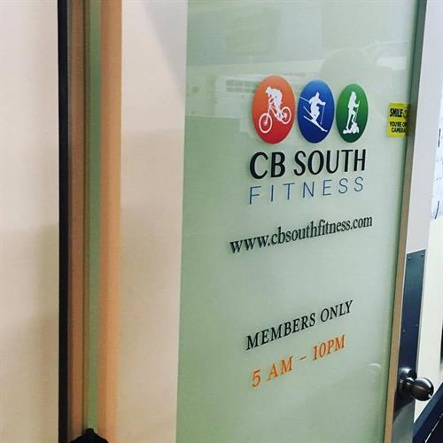 Open Door Hours can be seen on www.cbsouthfitness.com