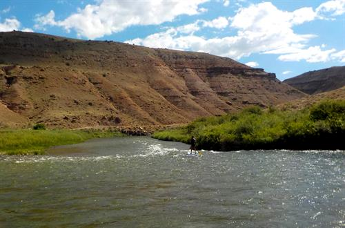 A lazy afternoon on the Gunnison River