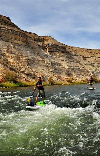 Class II whitewater on a half day Gunnison River Tour