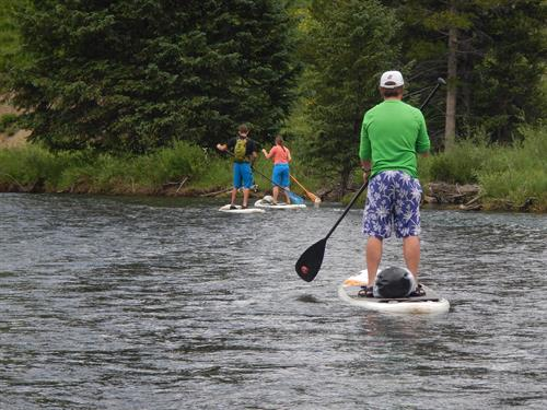 Upper Slate River SUP float