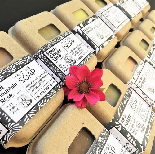 12 Varieties of Olive Oil Bar Soaps