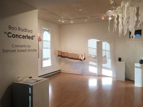 Upper Gallery featuring Boo Radford