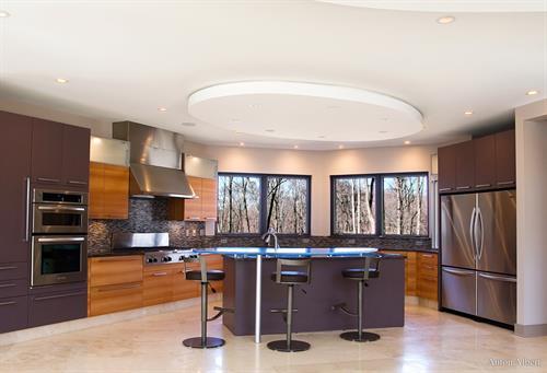Architectural interior for interior design firm