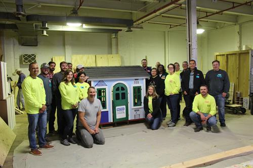 Habitat Playhouse Team Build