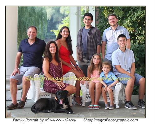 Family Portraits in the Summer