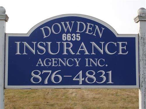 Dowden Agency sign