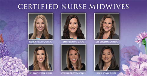 Our team of Certified Nurse Midwives