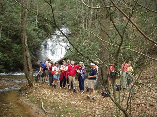 The Hiking Club at Big Canoe
