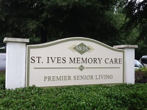 ST. IVES MEMORY CARE-5835 MEDLOCK BRIDGE CROSSING