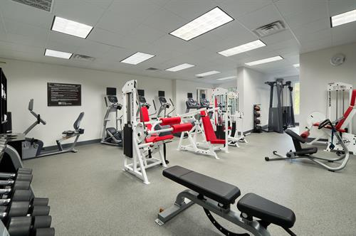 Awesome fitness center and jogging trails citywide