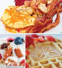 Hot buffet breakfast in The Great American Grille is just $10.95