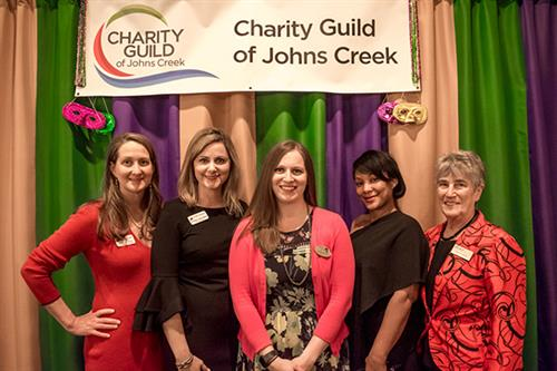 Mardi Gras & All That Jazz Gala - representatives from North Fulton Community Charities, Wellspring, Homestretch, StarHouse, Senior Services of North Fulton