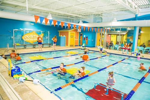 With our patented curriculum your child will learn to swim in no time!