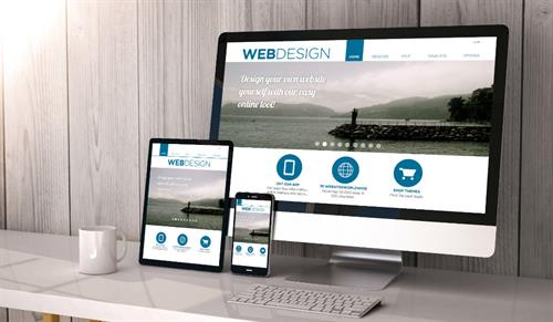Design your own website yourself with our own easy online tool.